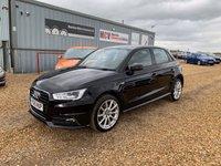 2015 AUDI A1 1.6 SPORTBACK TDI S LINE 5d 114 BHP £9490.00