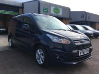 USED 2016 65 FORD TRANSIT CONNECT 1.6 240 LIMITED P/V 1d 114 BHP FSH, A/C, ALLOYS, FULLY LOADED, FINANCE ARRANGED & 6 MONTHS WARRANTY. FSH, A/C, rear Parking Sensors, heated seat, alloys, heated screen, cruise control, Bluetooth, electric mirrors, E/W, DAB Radio, 3 Seats, Drivers airbag, Factory fitted bulk head, colour coded, side loading door, load liner, Very Good Condition, 1 Owner, remote Central Locking, Drivers Airbag, Steering Column Radio Control, Barn Rear Doors, spare key, finance arranged on site & 6 months premium Autoguard warranty