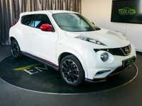USED 2014 14 NISSAN JUKE 1.6 NISMO DIG-T 5d 200 BHP £0 DEPOSIT FINANCE AVAILABLE, AIR CONDITIONING, AUX INPUT, BLUETOOTH CONNECTIVITY, CLIMATE CONTROL, CRUISE CONTROL, DAYTIME RUNNING LIGHTS, HEATED SEATS, REVERSE CAMERA, SATELLITE NAVIGATION, STEERING WHEEL CONTROLS, TRIP COMPUTER, USB CONNECTIVITY