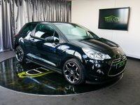 USED 2013 13 CITROEN DS3 1.6 E-HDI DSTYLE PLUS 3d 90 BHP £0 DEPOSIT FINANCE AVAILABLE, AIR CONDITIONING, AUX INPUT, BLUETOOTH CONNECTIVITY, CLIMATE CONTROL, CRUISE CONTROL, DAYTIME RUNNING LIGHTS, PARKING SENSORS, SPEED LIMITER, STEERING WHEEL CONTROLS, TRIP COMPUTER