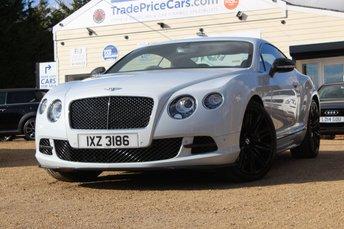 2015 BENTLEY CONTINENTAL 6.0 GT SPEED 2d 616 BHP £79950.00