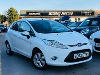 USED 2012 62 FORD FIESTA 1.6 TDCi TITANIUM ECONETIC II 95BHP 5 DOOR