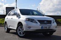 2011 LEXUS RX 3.5 450H SE-L 5d AUTO 249 BHP £18400.00