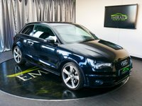 USED 2013 13 AUDI A1 2.0 TDI S LINE BLACK EDITION 3d 143 BHP £0 DEPOSIT FINANCE AVAILABLE, AIR CONDITIONING, BLUETOOTH CONNECTIVITY, CLIMATE CONTROL, CRUISE CONTROL, DAB RADIO, DAYTIME RUNNING LIGHTS, FULL S LINE LEATHER UPHOLSTERY, HEATED DOOR MIRRORS, SATELLITE NAVIGATION, START/STOP SYSTEM, STEERING WHEEL CONTROLS, TRIP COMPUTER, XENON PLUS HEADLIGHTS
