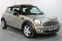 USED 2008 58 MINI HATCH COOPER 1.6 COOPER 3d 118 BHP EXCELLENT FULL UPTO DATE S/HISTORY