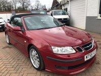 2005 SAAB 9-3 2.0 AERO T 2d AUTO 210 BHP £2495.00
