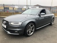 USED 2014 64 AUDI A4 2.0 TDI S LINE BLACK EDITION 4d 174 BHP