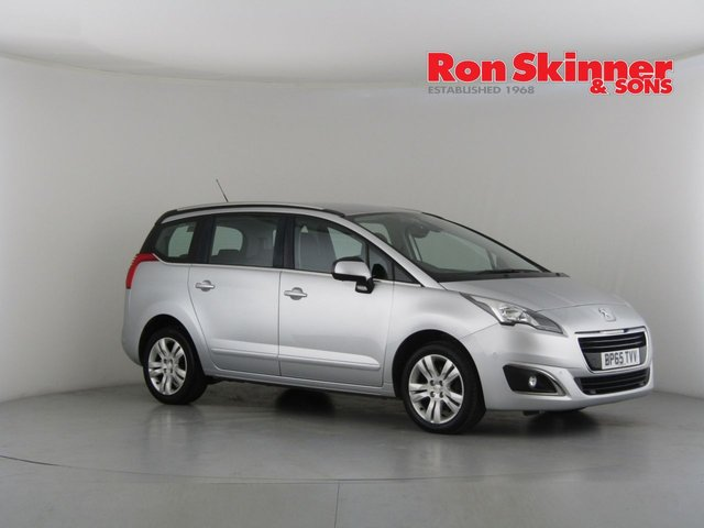 View our 2015 65 PEUGEOT 5008 1.6 BLUE HDI S/S ACTIVE 5d 120 BHP