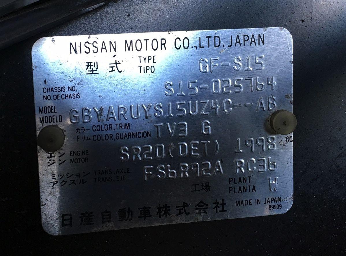 Nissan Silvia S15 Ls3 V8 6 2 Litre Engine Quaife 6 Speed