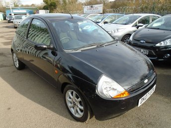2007 FORD KA 1.3 ZETEC CLIMATE CLOTH 3d 69 BHP £1295.00