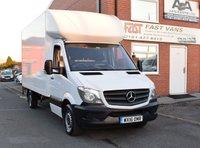 2016 MERCEDES-BENZ SPRINTER 2.1 313 CDI Lwb Luton 129 BHP £13949.00