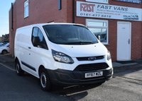 2017 FORD TRANSIT CUSTOM 2.0 270 L1 H1 SWB LOW ROOF 105 BHP £12249.00