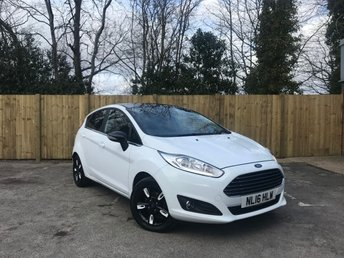 2016 FORD FIESTA 1.2 ZETEC WHITE EDITION AUTUMN 5d 81 BHP £7495.00