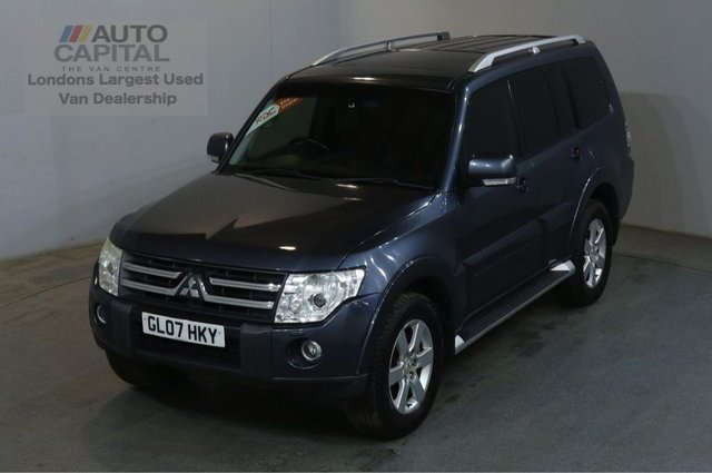 2007 MITSUBISHI SHOGUN 3.2 GLS ELEGANCE LWB DI-D 168 BHP AIR CON AUTO CAR AIR CONDITIONING