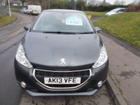 USED 2013 13 PEUGEOT 208 1.4 HDI ACTIVE 5d 68 BHP ++12 MONTHS AA BREAKDOWN COVER++