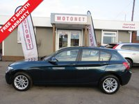 2014 BMW 1 SERIES 2.0 118D SE 5DR DIESEL HATCHBACK 141 BHP £20 TAX PER YEAR £7690.00