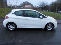 2012 PEUGEOT 208 1.0 ACTIVE 3d 68 BHP £3950.00