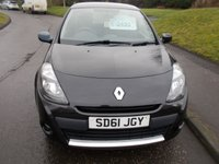 USED 2011 61 RENAULT CLIO 1.1 I-MUSIC 3d 75 BHP ++12 MONTHS AA BREAKDOWN COVER++