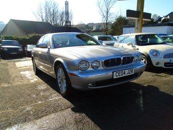 2004 JAGUAR XJ 4.2 V8 SE 4d AUTO 292 BHP £4495.00