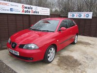 USED 2006 06 SEAT IBIZA 1.4 SPORT 3d 74 BHP FINANCE AVAILABLE FROM £18 PER WEEK OVER TWO YEARS - SEE FINANCE LINK FOR DETAILS