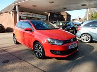 2014 VOLKSWAGEN POLO 1.2 MATCH EDITION 3d 59 BHP £5750.00