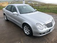 2007 MERCEDES-BENZ E CLASS 2.1 E220 CDI EXECUTIVE 4d 170 BHP £6495.00