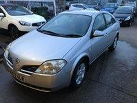 2002 NISSAN PRIMERA 1.8 SE 4d 114 BHP £699.00