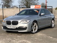 USED 2014 14 BMW 7 SERIES 730D M SPORT AUTO / HEATED LEATHER / SATNAV / FRONT AND REAR PARKING SENSORS