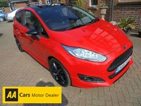 2016 FORD FIESTA 1.0 ZETEC S RED EDITION 3d 139 BHP £9495.00