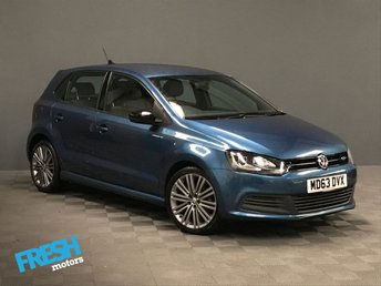 2014 VOLKSWAGEN POLO 1.4 BLUE GT DSG 5d AUTO  £10500.00