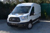 USED 2016 16 FORD TRANSIT 2.2 290 TREND SHR P/V 1d 124 BHP AIR CONDITIONING AIR CONDITIONING