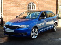 USED 2015 15 SKODA RAPID 1.6 SPACEBACK SE SPORT TDI CR 5d 89 BHP