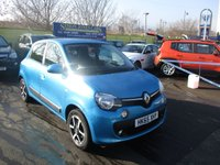 USED 2015 65 RENAULT TWINGO 1.0 DYNAMIQUE SCE S/S 5d 70 BHP WAS £6,995 NOW ONLY £6,495 !!