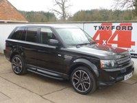 2013 LAND ROVER RANGE ROVER SPORT 3.0 SDV6 HSE BLACK 5d AUTO 255 BHP £SOLD