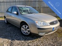 USED 2004 04 FORD MONDEO 2.0 ZETEC 16V 5d 145 BHP Long MOT Expires 29/08/2019