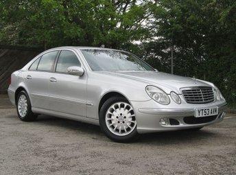 2004 MERCEDES-BENZ E-CLASS 3.2 E320 CDI ELEGANCE 4d AUTO 204 BHP £2450.00