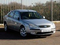 2004 FORD MONDEO 2.0 ZETEC 16V 5d AUTO 145 BHP £1445.00