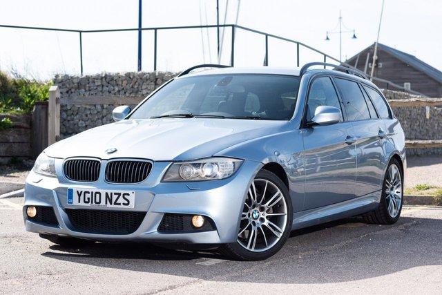 2010 10 BMW 3 SERIES 3.0 325D M SPORT TOURING 5d AUTO 195 BHP