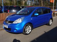 2010 NISSAN NOTE 1.6 TEKNA 5dr, Automatic £5495.00