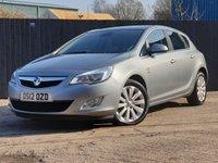 2012 VAUXHALL ASTRA 1.6 SE 5d 113 BHP £4000.00