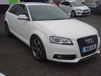 USED 2011 11 AUDI A3 2.0 TDI 170 BLACK EDITION S/S