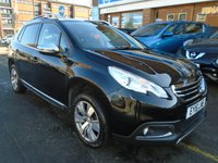 USED 2016 16 PEUGEOT 2008 1.2 S/S ALLURE 5d 82 BHP 1 OWNER, 21,000 MILES