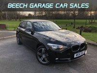 2014 BMW 1 SERIES 2.0 116D SPORT 5d 114 BHP £8990.00