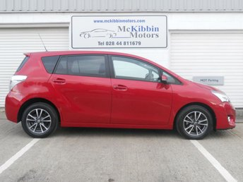 2015 TOYOTA VERSO 1.6 D-4D ICON 5d 110 BHP £11750.00