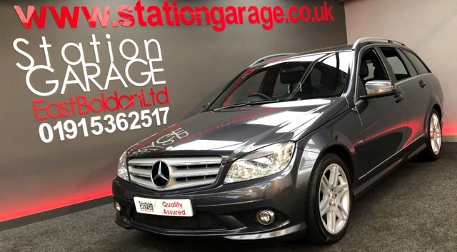 2009 59 MERCEDES-BENZ C-CLASS 1.6 C180 KOMPRESSOR BLUEEFFICIENCY SPORT 5d AUTO 156 BHP AMG
