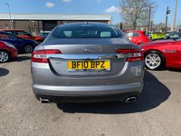 USED 2010 10 JAGUAR XF 3.0 V6 PREMIUM LUXURY 4d AUTO 240 BHP SATELLITE NAVIGATION - HEATED WINDSCREEN