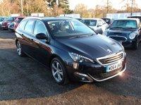 2015 PEUGEOT 308 1.6 HDI S/S SW ALLURE 5d 115 BHP £8750.00