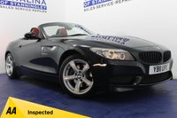USED 2011 11 BMW Z4 3.0 Z4 SDRIVE30I M SPORT HIGHLINE EDITION 2d AUTO 254 BHP STUNNING CAR - FULL RED LEATHER - HEATED SEATS - SAT NAV - BLUETOOTH - ALLOYS