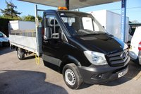 USED 2015 65 MERCEDES-BENZ SPRINTER 2.1 313 CDI 1d 129 BHP DROPSIDE  with 13