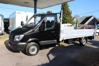 """2015 MERCEDES-BENZ SPRINTER 2.1 313 CDI 1d 129 BHP DROPSIDE  with 13"""" 6 BODY and Tail Lift £10995.00"""